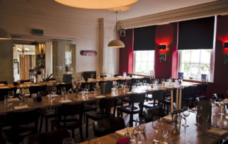 private dining restaurant in bristol