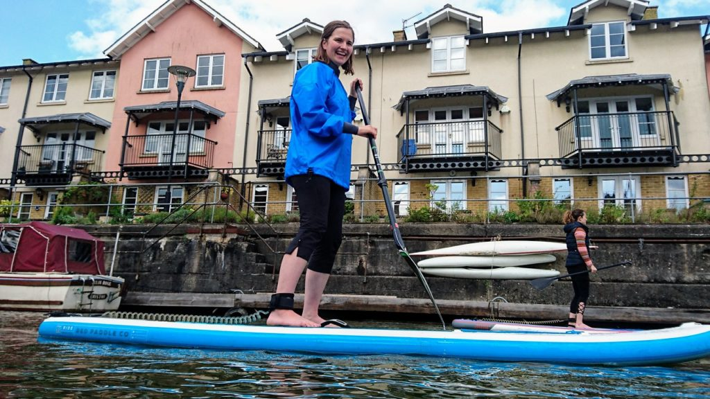 Quarter Events - Paddle boarding for charity purposes